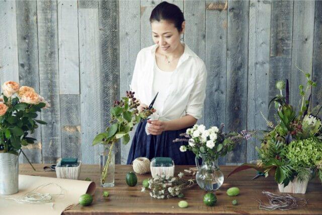 有害物質や匂いを浄化する光触媒の花風水